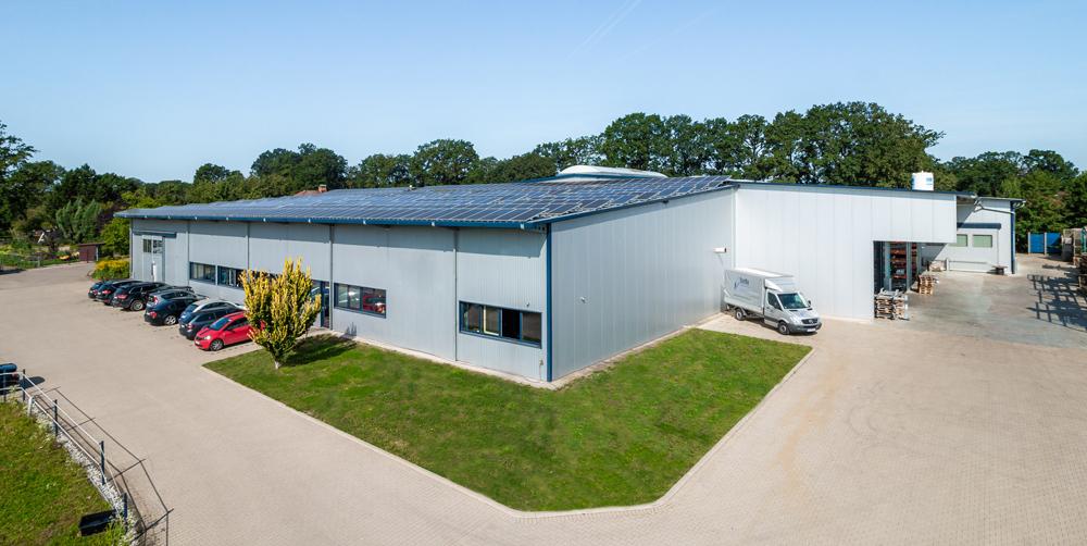 Unternehmenssitz der DASCH-TEC GmbH in Rietberg | OWL