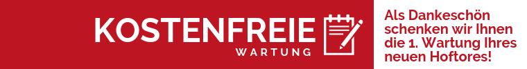 Rhino Tore Dasch Tec GmbH Angebot kostenfrei Wartung des neuen Hoftores