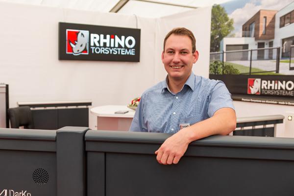 Rhino Torsysteme Geschäftsführer Simon Darming