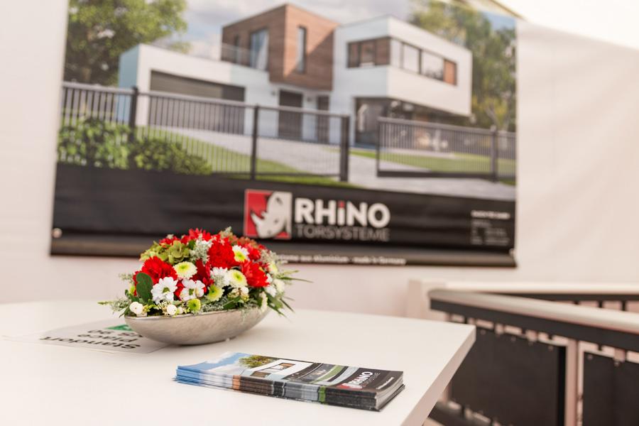 Rhino Torsysteme Messestand Katharinenmarkt 2019
